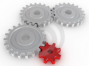 Cogwheel Royalty Free Stock Photos - Image: 8618148