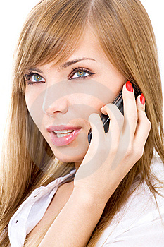 On The Phone Stock Photos - Image: 8618183