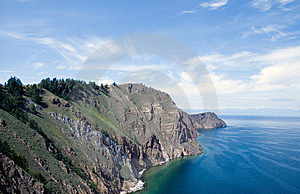 Baikal Rock Royalty Free Stock Photography - Image: 8619097
