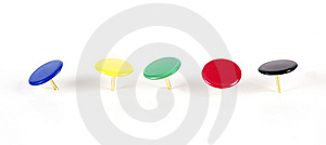 Pins Line Royalty Free Stock Photo - Image: 8619175