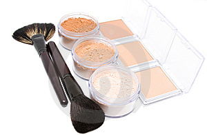 Make-up Set Royalty Free Stock Image - Image: 8619616