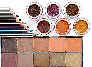 Make-up Set Royalty Free Stock Photo - Image: 8619645