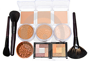 Make-up Set Stock Photo - Image: 8619660
