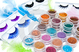 Make-up Set Stock Photos - Image: 8619693