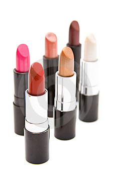 Make-up Set Stock Photo - Image: 8619710