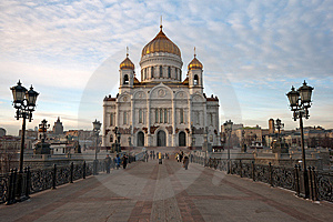 Cathedral Of Christ The Savior Royalty Free Stock Photo - Image: 8620295