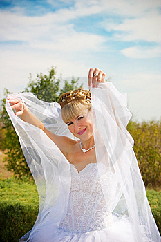 Pretty Bride Royalty Free Stock Photos - Image: 8620558