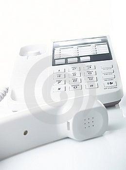 Office Telephone Royalty Free Stock Image - Image: 8620576
