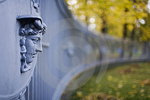 A Fencing Of Gate. Royalty Free Stock Photos - Image: 8620778