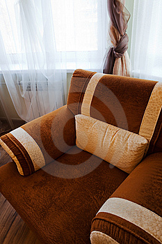 Soft Armchair Stock Image - Image: 8620841