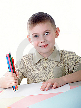 The Boy Royalty Free Stock Images - Image: 8620959
