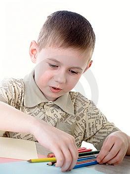 Der Junge Stockfoto - Bild: 8620980