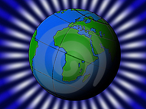Green Planet Royalty Free Stock Photos - Image: 8621058