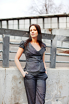Portrait Of A Beautiful Woman Royalty Free Stock Photo - Image: 8621225