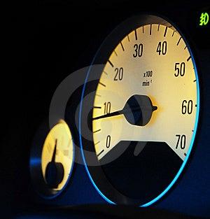 Odometer Royalty-vrije Stock Afbeelding - Beeld: 8621266