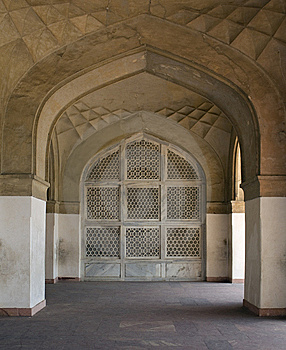 Archs At Sikandra Stock Images - Image: 8621314