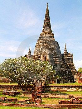 Wat Phra Si Sanphet Royalty Free Stock Photo - Image: 8621325
