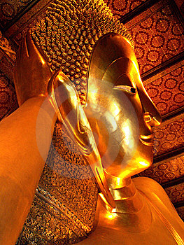 Golden Buddha Stock Photo - Image: 8621410