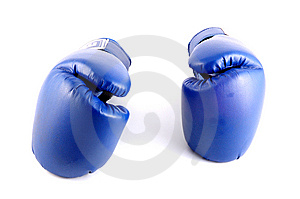 Boxer Glove Stock Image - Image: 8621961