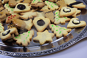 Christmas Biscuits Royalty Free Stock Images - Image: 8622009