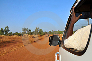 In Trip On The Road Of Africa... Stock Images - Image: 8622034