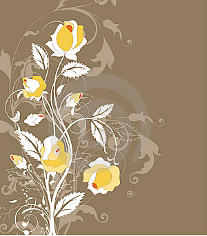 Floral Abstract Background. Stock Photos - Image: 8622223