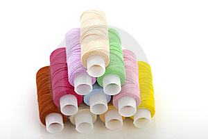 Colorful Spools Threads Stock Photography - Image: 8622752