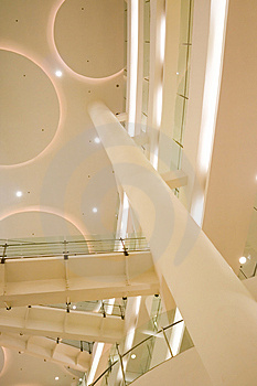 Interior View Of A Public Building Royalty Free Stock Image - Image: 8623006