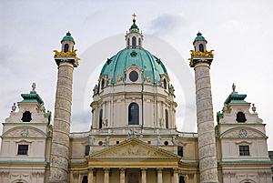 Viennas Karlskirche Stock Photo - Image: 8623780