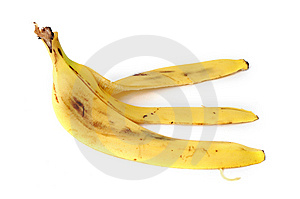Banana Peel Royalty Free Stock Photos - Image: 8623788