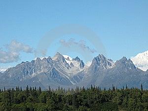 Mt. Foraker And Grand Tokosha Royalty Free Stock Photography - Image: 8624057