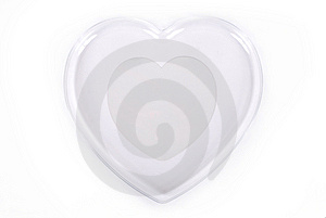 Glass Heart Stock Image - Image: 8624381