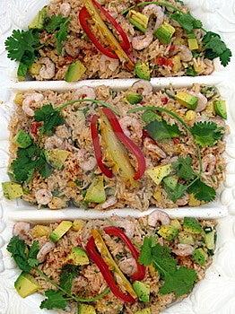 Salade De Fruits De Mer Images libres de droits - Image: 8624409