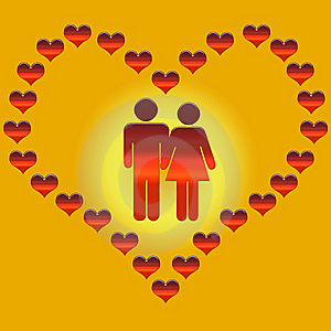 Lovers Royalty Free Stock Image - Image: 8624506