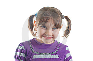 Cute Little Girl Royalty Free Stock Image - Image: 8624516