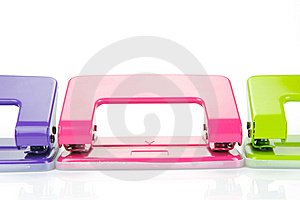 Hole Punches Royalty Free Stock Images - Image: 8624539