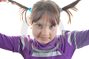 Little Cute Girl Royalty Free Stock Photography - Image: 8624557