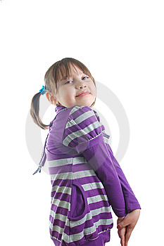 Little Cute Girl Royalty Free Stock Photos - Image: 8624668