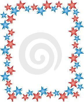 Stars Frame Stock Photo - Image: 8624700