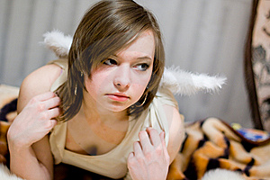 Angel Stock Image - Image: 8624851