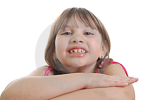 Happy Little Girl Royalty Free Stock Photo - Image: 8624895