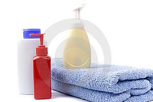 Körperpflegeprodukte Lizenzfreie Stockbilder - Bild: 8624909