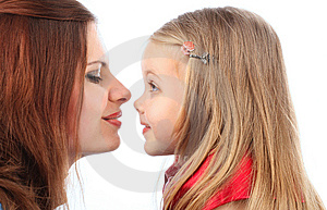 Mum With The Daughters Stock Photography - Image: 8624952