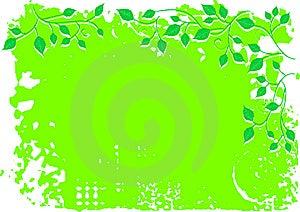 Blumenhintergrund, Verzierung, Verlässt Stockfoto - Bild: 8625110