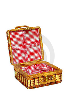 Picnic Handbasket Stock Photography - Image: 8625282