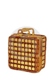 Picnic Handbasket Stock Photo - Image: 8625330