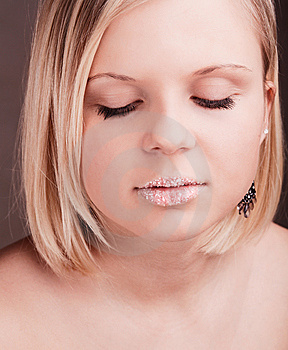 Young Pretty Blond Girl Royalty Free Stock Photo - Image: 8625495