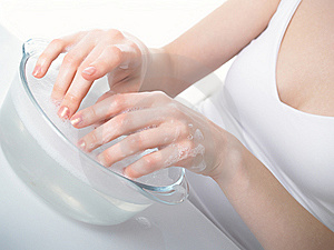 Graceful Female Hands Stock Photography - Image: 8625712