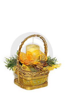Basket Royalty Free Stock Photography - Image: 8625717