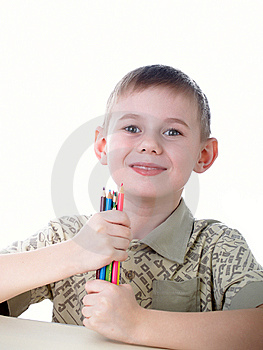 The Boy Royalty Free Stock Photography - Image: 8625837